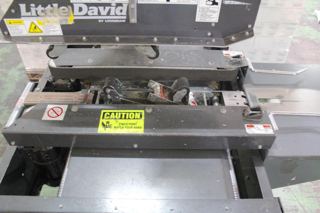 "Little David LD3SBE Top & Bottom Case Sealer with 2"" Tape Heads 120V Loveshaw"