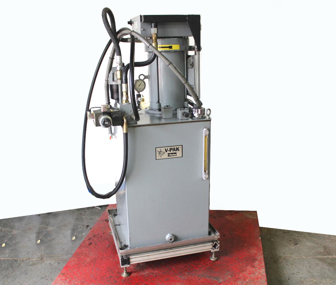 Parker V-Pak 10Hp Hydraulic Pump 15 GPM 1090 PSI 40 Gal Reservoir V415NS5PNR1