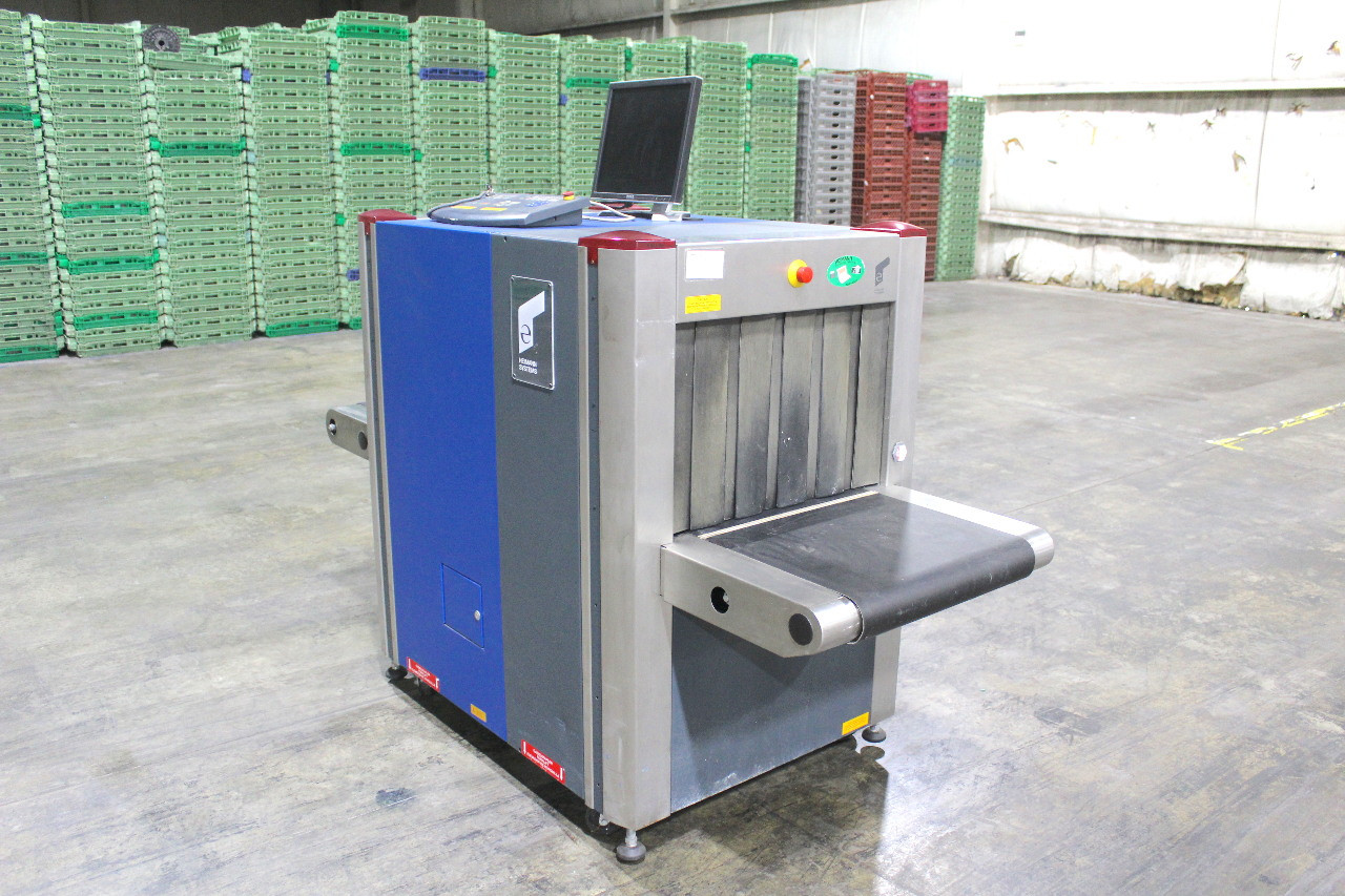 Heimann Systems HS 6040i X-Ray Scanner Parcel Baggage Cargo XRay Inspection Unit