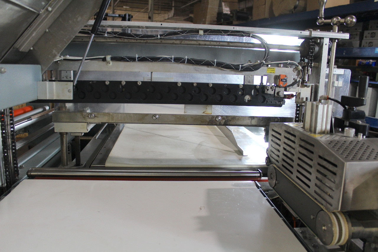 Shanklin CF3 Automatic Side Seal Shrink Wrapper w/ Sealed Air Upgrade & Conveyor