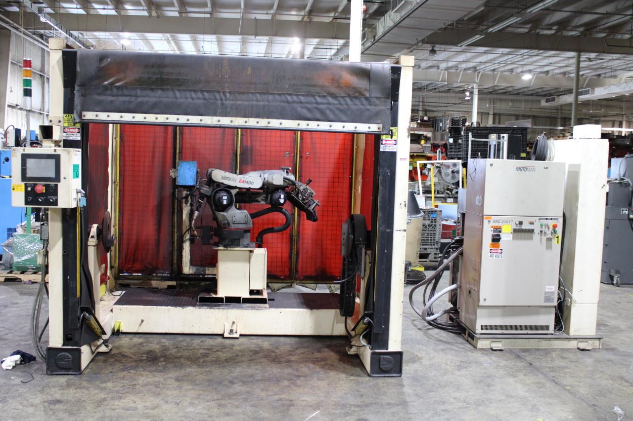 Motoman EA1400 Robotic Welding Cell