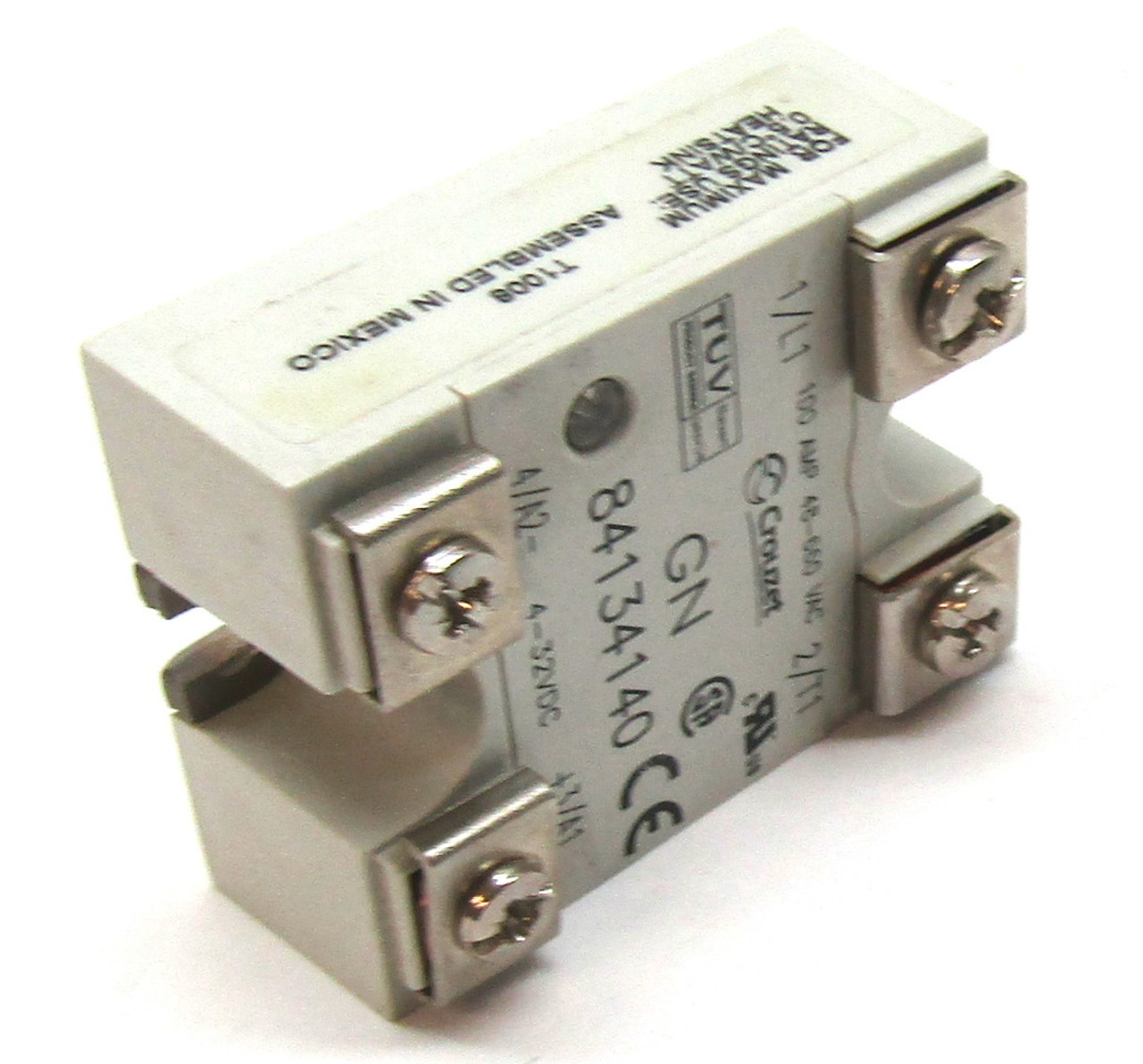 Crouzet 84134140 Solid State Relay 48 660 Vac 100 Amp 2 T1 Working