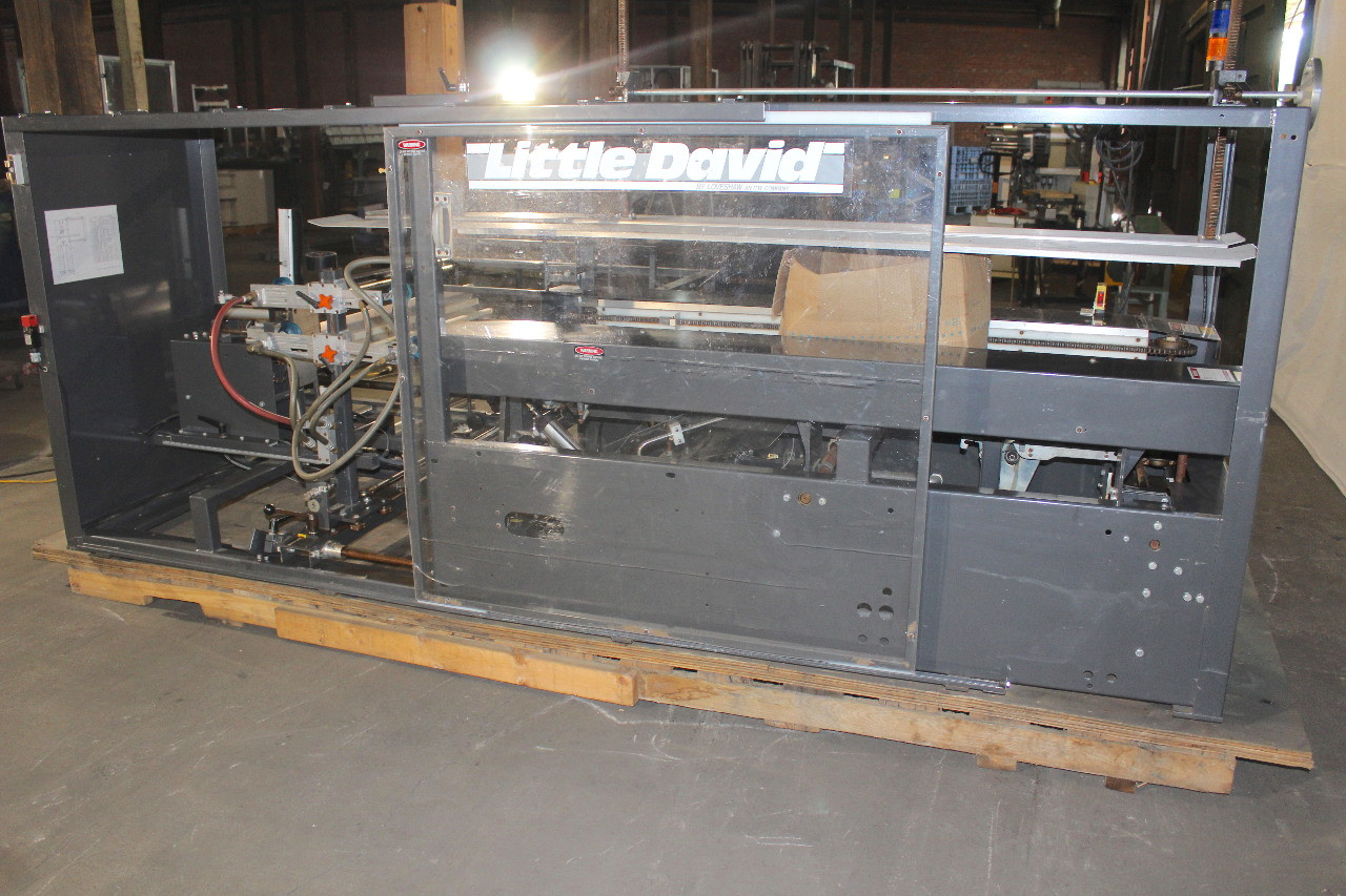 "Little David CF-40T Case Former, 3"" Bottom Taper, 120V, 20 Case Per Minute"
