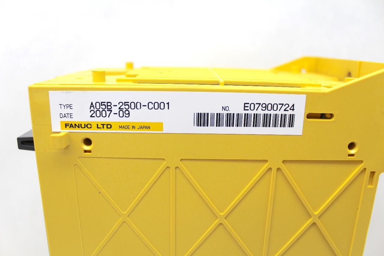 Fanuc A05B-2500-C001 Main CPU A16B-3200-0600 and A16B-2203-0910