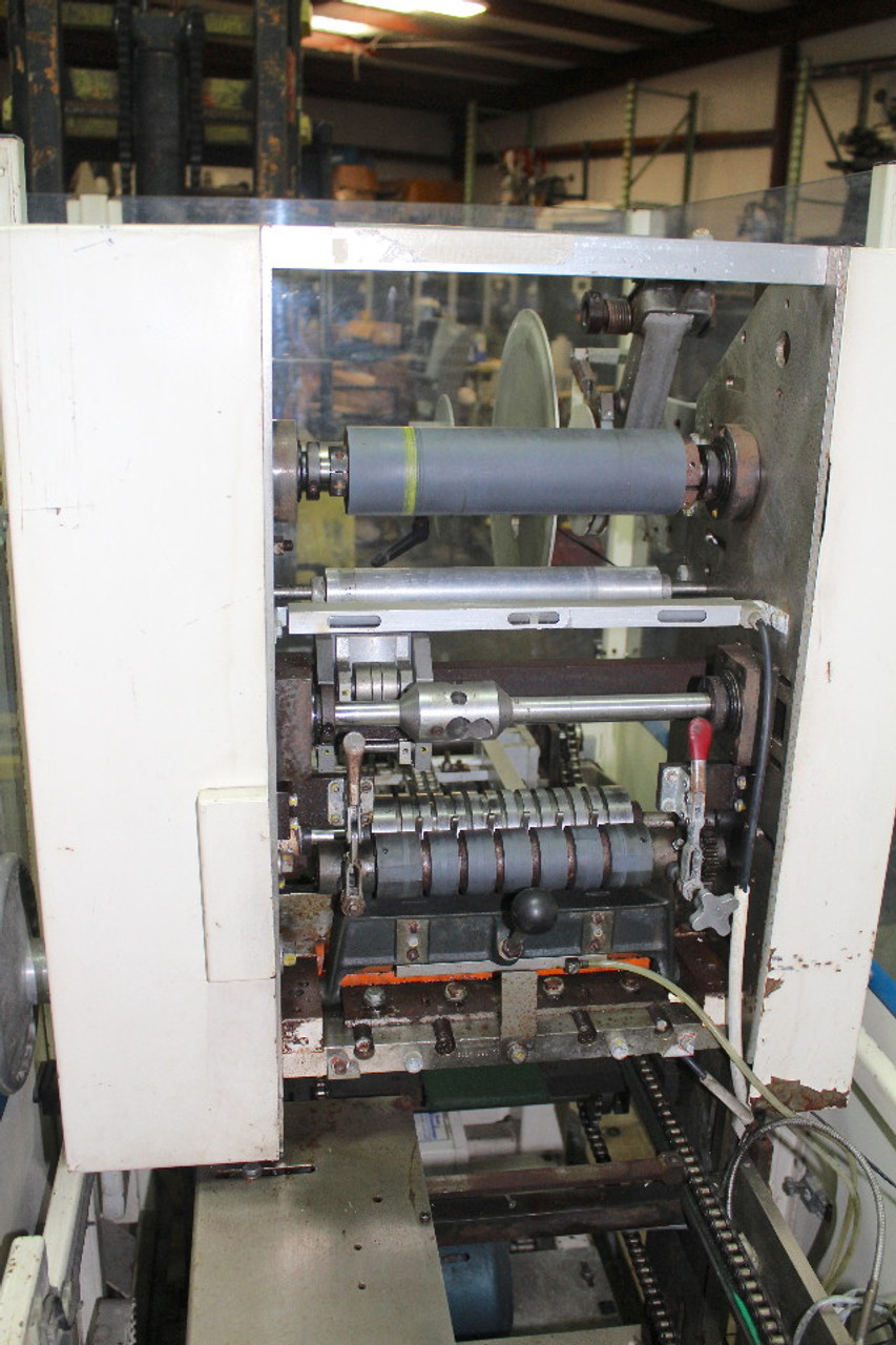 Scandia 626 Folded Film Overwrapper Flow Wrapper 120 PPM, 208Vac