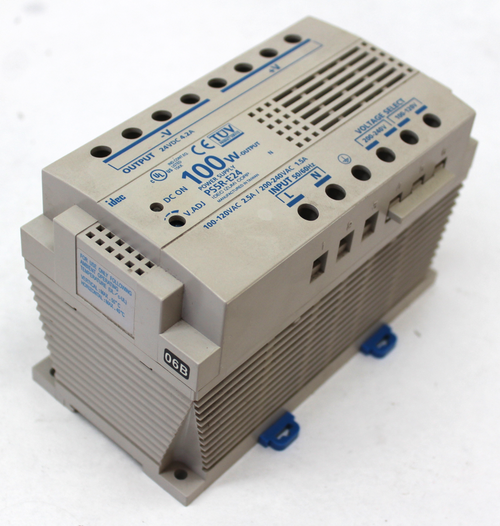 Idec PS5R-E24 Power Supply 100-120 Vac Input 24 Vdc Output 100W