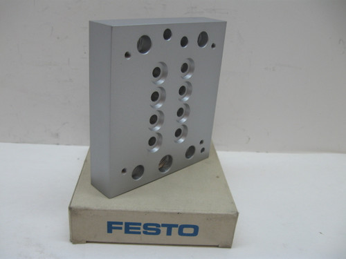 Festo CPV14-VI-P4-1/8 Pneumatic Multiple Connector Plate New