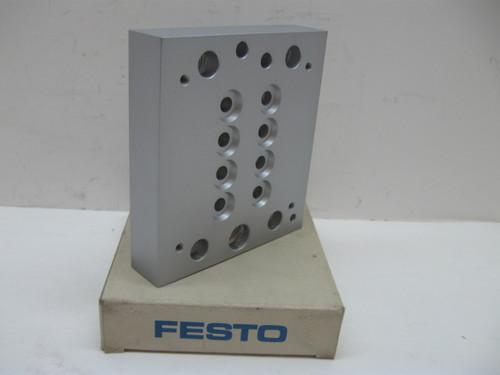 Festo CPV14-VI-P4-1/8 Pneumatic Multiple Connector Plate New