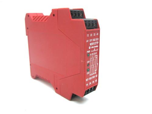 Allen Bradley MSR127TP 440R-N23132 Safety Relay 24 Vac/Vdc Series C