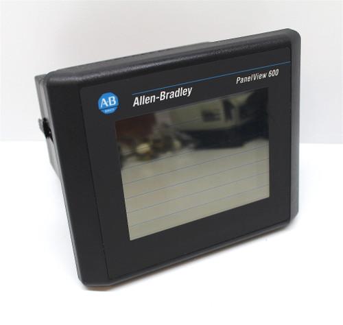 Allen Bradley 2711-T6C9L1 Ser. B Rev. D FRN 4.43 Panelview 600 HMI Warranty