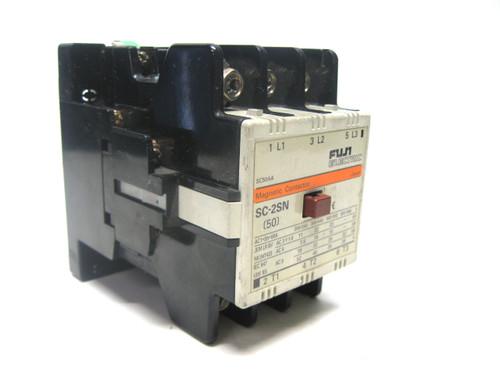 Fuji SC-2SN Magnetic Contactor 100-110 V Coil Voltage