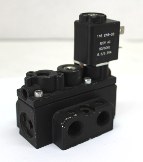 ARO Fluid Power A212SS-120-A 4-Way, 2-Position Solenoid Air Control Valve, 120V