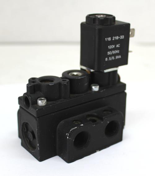 ARO Fluid Power A212SS-120-A 4-Way, 2-Position Solenoid Air Control Valve, 120V