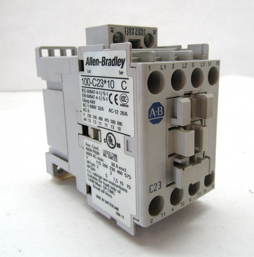 Allen Bradley 100-C23*10 Ser. C, 120V Coil, 30A