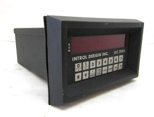 Introl Design ILC 2100AMB Incremental Indexer, 230VAC