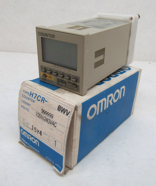 Omron H7CR-BWV Digital Counter, 100-240VAC