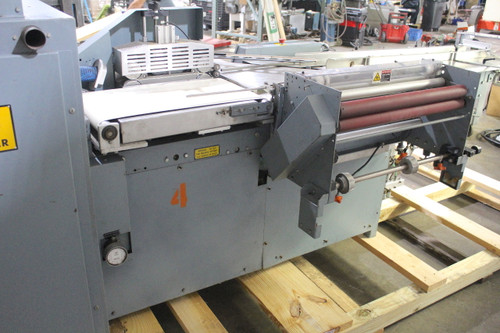 Shanklin F-5A Side Seal Shrink Wrapper, 75 Packages Per Minute, 230V 20A 1Ph