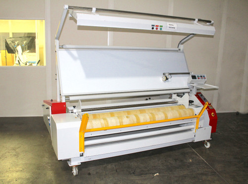 "AIT Fabric Textile Inspection & Rewind Machine KK160DNM 83"" wide 220V"