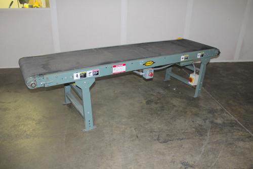 "Hytrol 8'-6"" Long x 24"" Wide Belt Conveyor with 1/2Hp Reliance Drive Motor"