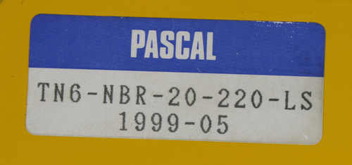 Pascal 6kn Aioi Seiki Pascal TN6-NBR-20-220 Swing Rod Arm Clamp Pneumatic