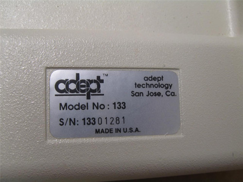 Adept Programming Model 133 Teach Pendant With Manual New