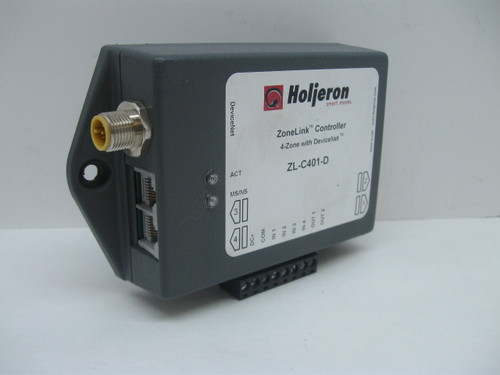 Holjeron ZL-C401-D ZoneLink Controller 4-Zone with DeviceNet