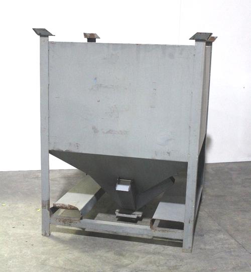 "National Bulk Equipment Hopper, 44""x44"" Opening, 4 Chutes - 4"""