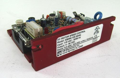 KB Electronics KBMM-125 (9449) DC Motor Speed Controller 90V DC w/Potentiometer