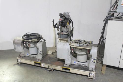 Motoman SSA-2000 Welding Robot NX100 Control Motoweld EL350 Welder Motopos