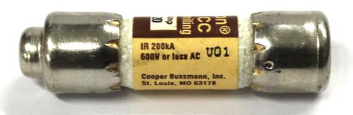 Bussman Limitron KTK-R-20 Current Limiting Fuse 20 Amp, 600 Vac Or Less