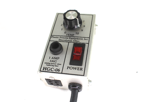 Plastic Process Equipment HGC-06 Temperature Controller Box, 1 Amp