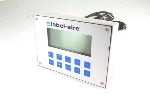 Label-Aire Operator Control Panel/ Pushbutton w/ Cable and Connector