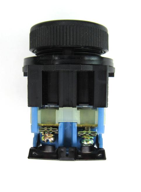 Fuji AR22FOR Black Push Button Switch