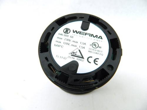 Werma Signaltechnik 646 800 68 Buzzer Element 85Db 230V KombiSIGN 71