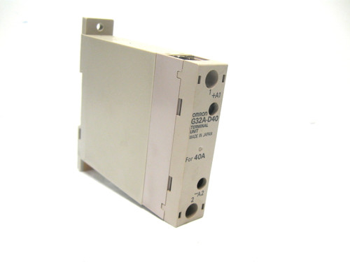 Omron G32A-D40 Terminal Unit For 40A