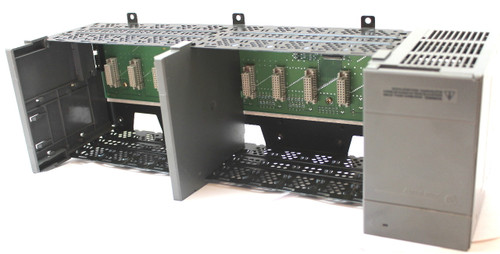 Allen Bradley 1746-A10 10 Slot Rack with 1746-P3 Series A Power Supply