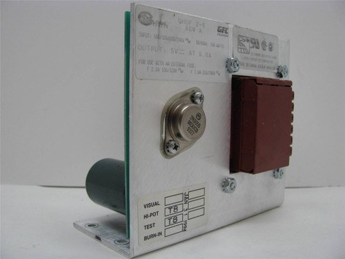 GFC Power GHOF 2-5 Power Supply 5VDC Output 6 Amps Input 100-240VAC