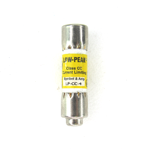 Bussmann LP-CC-4 Current Limiting, Low-Peak, Time Delay, 600V AC, 150V DC
