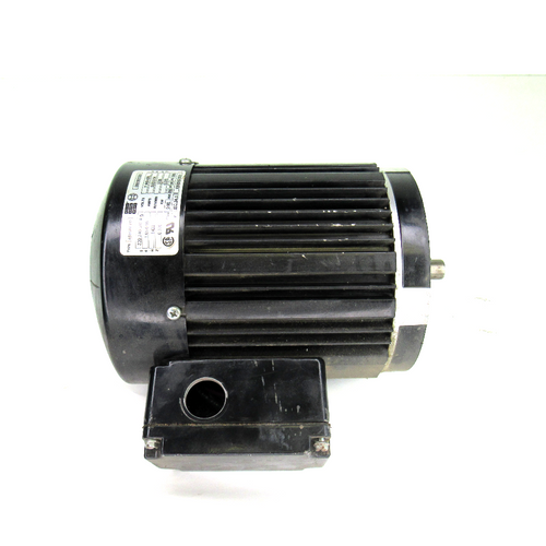 Bodine Electric Co. 48Y6BFPP AC Motor, 0.370kW, 1400~1700 RPM, 1.65/0.95~0.82-0.84 Amp, 220-240/380-415V, 50/60Hz