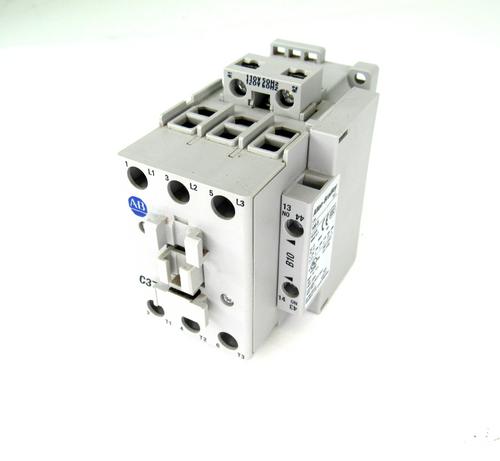Allen Bradley 100-C37*00 Ser. C Contactor, 600V, 50 Amp, 3-Phase