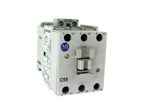Allen Bradley 100-C55*00 Ser. A Contactor, 75 Amp Max, 600V AC Max., 3-Phase