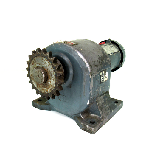 Nissei World Energy Induction Motor, 3-Phase, 200/220 Volts, 50/60Hz, 1.2/1.1 Amp, 1410/1700/1720 RPM, 0.2kW