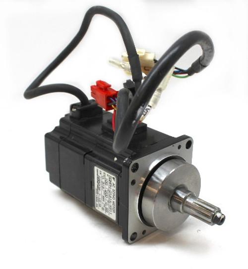 Yaskawa SGMPH-01A1A-YR11 AC Servo Motor 100W, 200V, 0.89A, 3000 RPM, Motoman