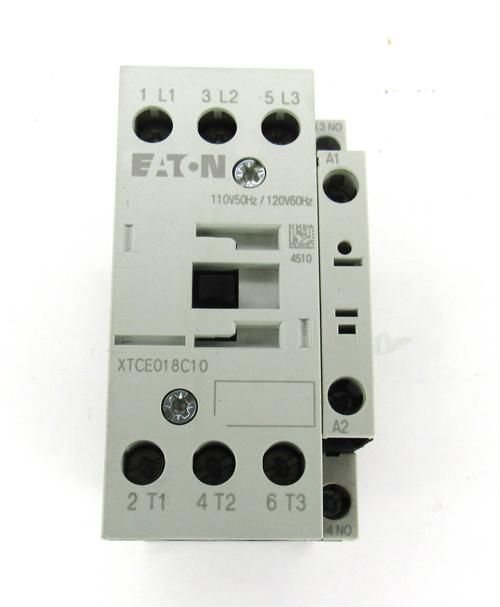 Eaton XTCE018C10 Contactor, 40 Amp, 250V DC, 3 Pole