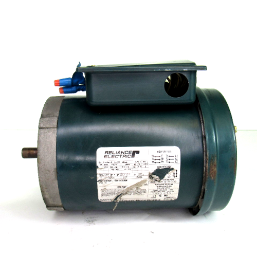 Reliance Electric P56H5069H Electric Motor, 1/2 HP, 1725 RPM, 208-230V / 460-480V, 2.2 / 1.1-1.2 Amp, 60Hz, 3-Phase
