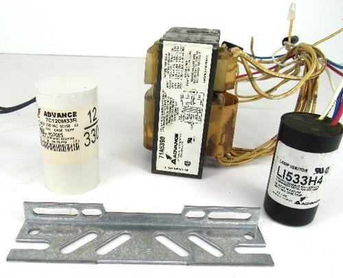 Philips Advance 71A5390-001D Core & Coil Ballast Kit, 100W M90 Metal Halide, 120-277V, NEW