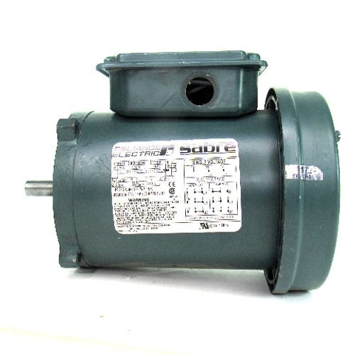 Reliance Electric P56H7641 Sabre Electric Motor, 3-Phase, 1HP, 1700RPM, 208-230/460V, 3.76-3.40/1.70 Amp, 60Hz