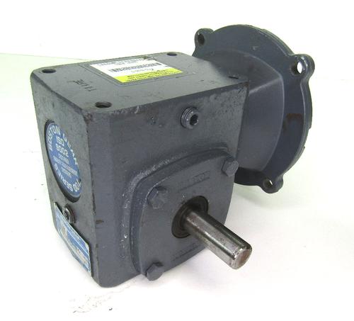 Boston Gear F715-15-B5-G Right Angle Speed Reducer, 15:1 Ratio, 0.91 HP