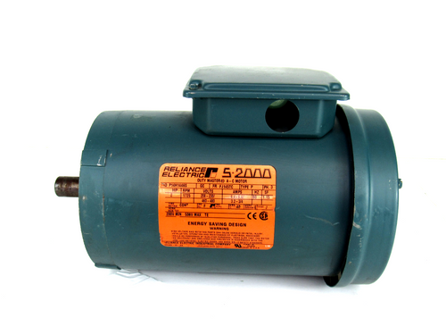 Reliance Electric P14H1446S AC Motor, 3-Phase, 1725 RPM, 2HP, 208-230/460-480V, 6.4/3.2-3/4 Amp, 60HZ