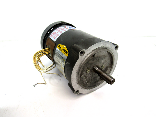 Baldor VM3537 Industrial Electric Motor, 3-Phase, 1/2 HP, 208-230/460V, 2.1-2.0/1.0 Amp, 3450RPM, 60Hz